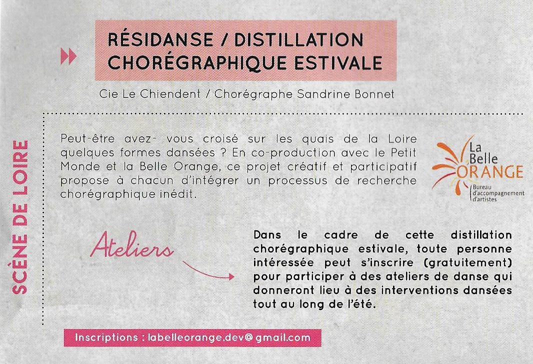 distillation-choregraphique