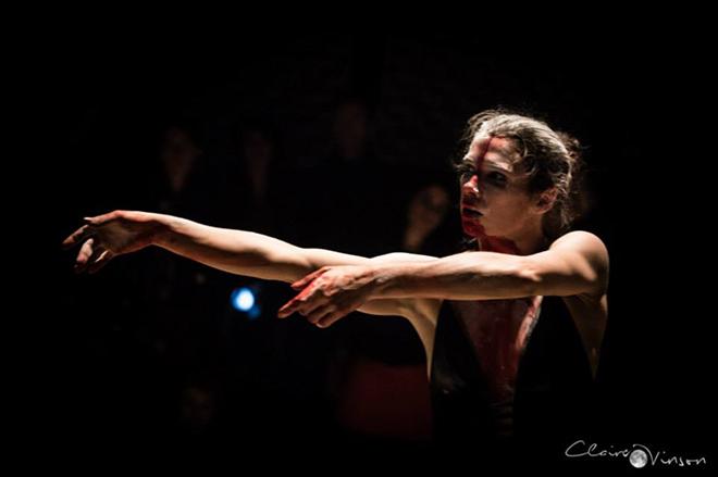 Cécilia Ribault, hypnago, photographie © Claire Vinson